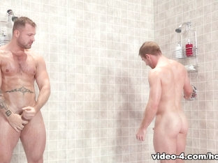 Austin Wolf & Scott Riley in Bathhouse Ballers, Scene #02 - HotHouse
