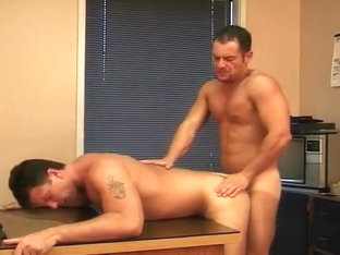Hot Gay Office Sex with Tanner Reeves