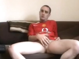 Having a Stroke In Fella UTD Footy Top
