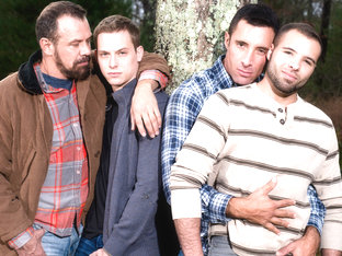 Nick Capra & Max Sargent & Tommy Regan & Braxton Smith in His Daughter's Boyfriend 3, Scene 01 - I.