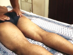 Seducing male massage