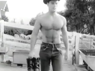 Gay Vintage 50s - Cowboy Washup