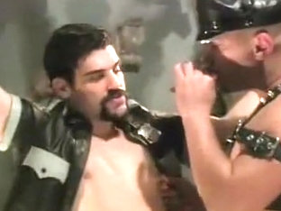 Leather Men Fist Fuck