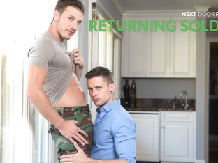 Quin Quire & Brandon Cody in Returning Soldier - NextdoorWorld