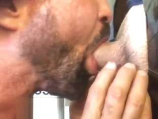 White Italian Cock Gets Drained at Philly Gloryhole