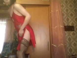 Exotic gay clip with Webcam, Crossdressing scenes