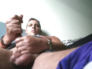 SMOKING HOT JERKING SESSION - LEAKED MALE CELEB CORY BERNSTEIN CUMS HARD