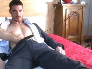 Beautiful Str8 insurrer in suit made porn to get a contract