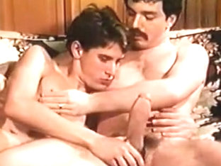 Hottest male in fabulous vintage, big dick gay adult movie