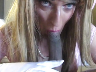 Sissy Tonya with black cock pt 2