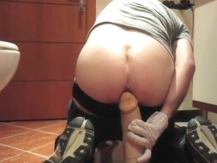 Mr BigHOLE Big Ass Gay Escort Gaped by 12 Inch Huge Dildo