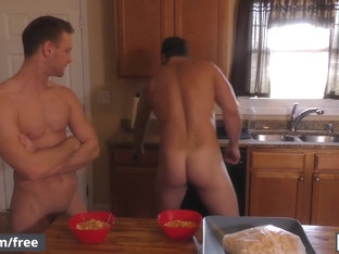 Men.com - Ashton McKay and Brandon Evans - My Cousin Ashton Part 2 - Drill My Hole