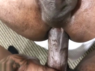 Twink Takes the Dick of his Life Bareback of BBC Rock BLACK THUG