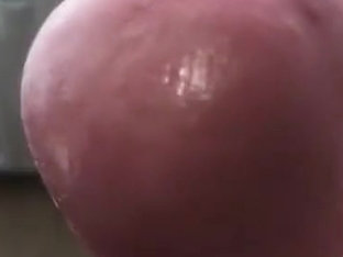 Close Up Cumshot Foreskin Uncut Head