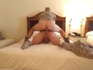 Anonymous Marine Hotel Bareback Pump N Dump, Hidden Breeding College Boots