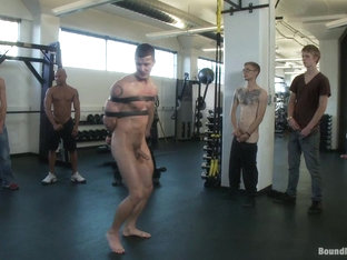 Bound in Public. Gym Rat and The Gay Mafia