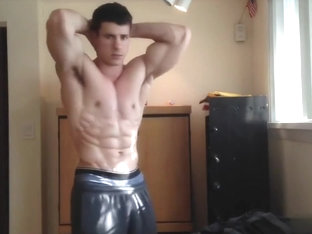 Young muscle hunk worship 2