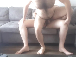 Riding Mike's Fat Sexy Cock