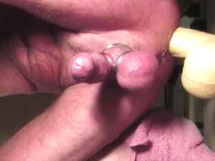 Hands Free Flying Cumshot Riding 13 Inch Dildo
