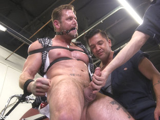 Ace Era in Muscle Stud Ace Era Dominated in Rope Bondage and Edged to Cum!  - BoundGods