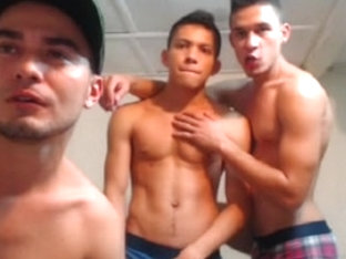 Three Fucking Hot Colombian Boys Have Fun On Cam