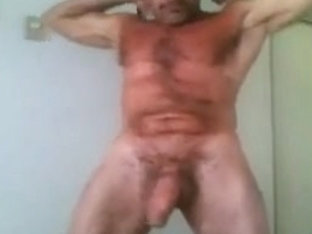 Fit daddy with a big fat cock