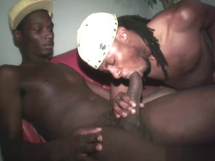 Sexy black thugs have gay sex for money part6
