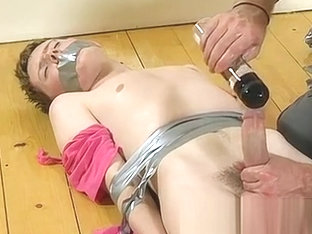 Male celeb bondage video gay The scanty guy gets his mushy booty