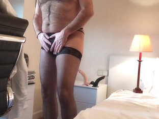 Gay dildo thong and stockings