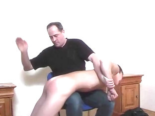 1227 Hot Guy Spanked