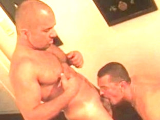 Fabulous male pornstars Lazar Zorba and Patrick Ives in amazing bears, blowjob homo adult clip