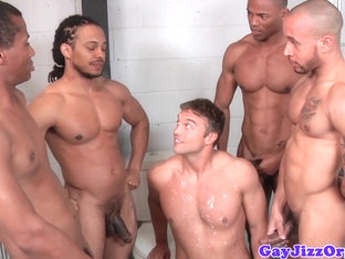 Cum loving ebony jocks in jail fuck white ass