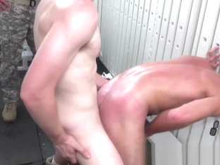 Juicy army cadets dicked hard by hung officers