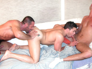 Danny Lopez & Nick Capra & Ty Hudson in Behind The Secret Door Scene 2 - Bromo