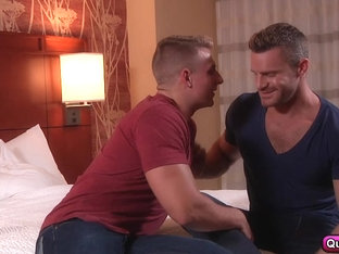 Landon Conrad and Logan Vaughn craving for each other.