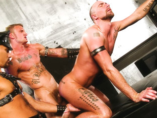 Matthieu Paris & Ricky Sinz & Antonio Biaggi in Savage, Scene #05