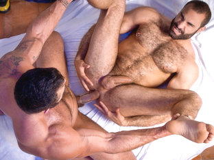 Rogan Richards & Paco in The Tourist Video