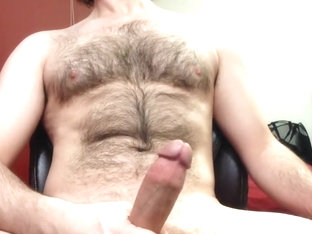 Big Cock Edging To Multiple Hands Free Cumshots