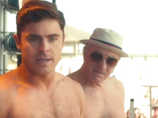 Zac Efron sexy scenes in 'Dirty Grandpa'