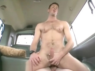 Hot naked white straight men gay Ass Pounding On The Baitbus!
