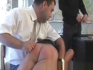 Vintage Russian Spanking